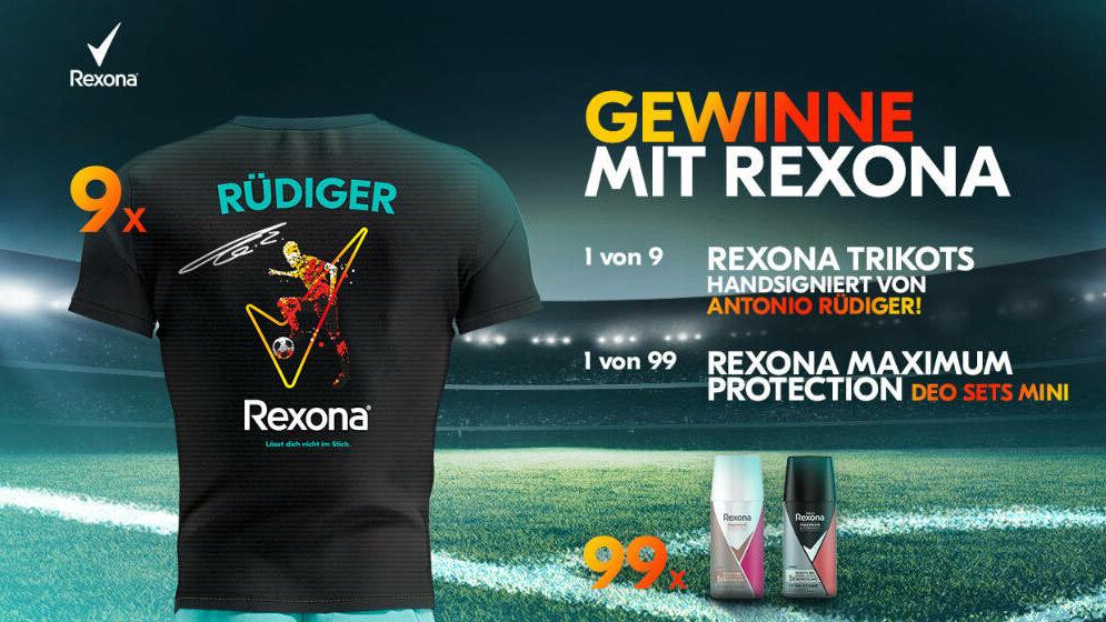 Unilever Friends - Rexona - Trikot Gewinnspiel