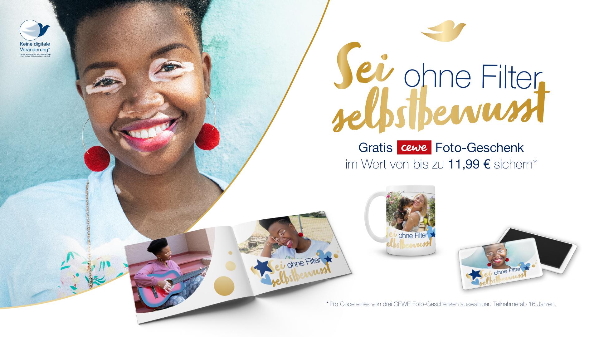 Unilever Friends - Sei ohne Filter selbstbewusst