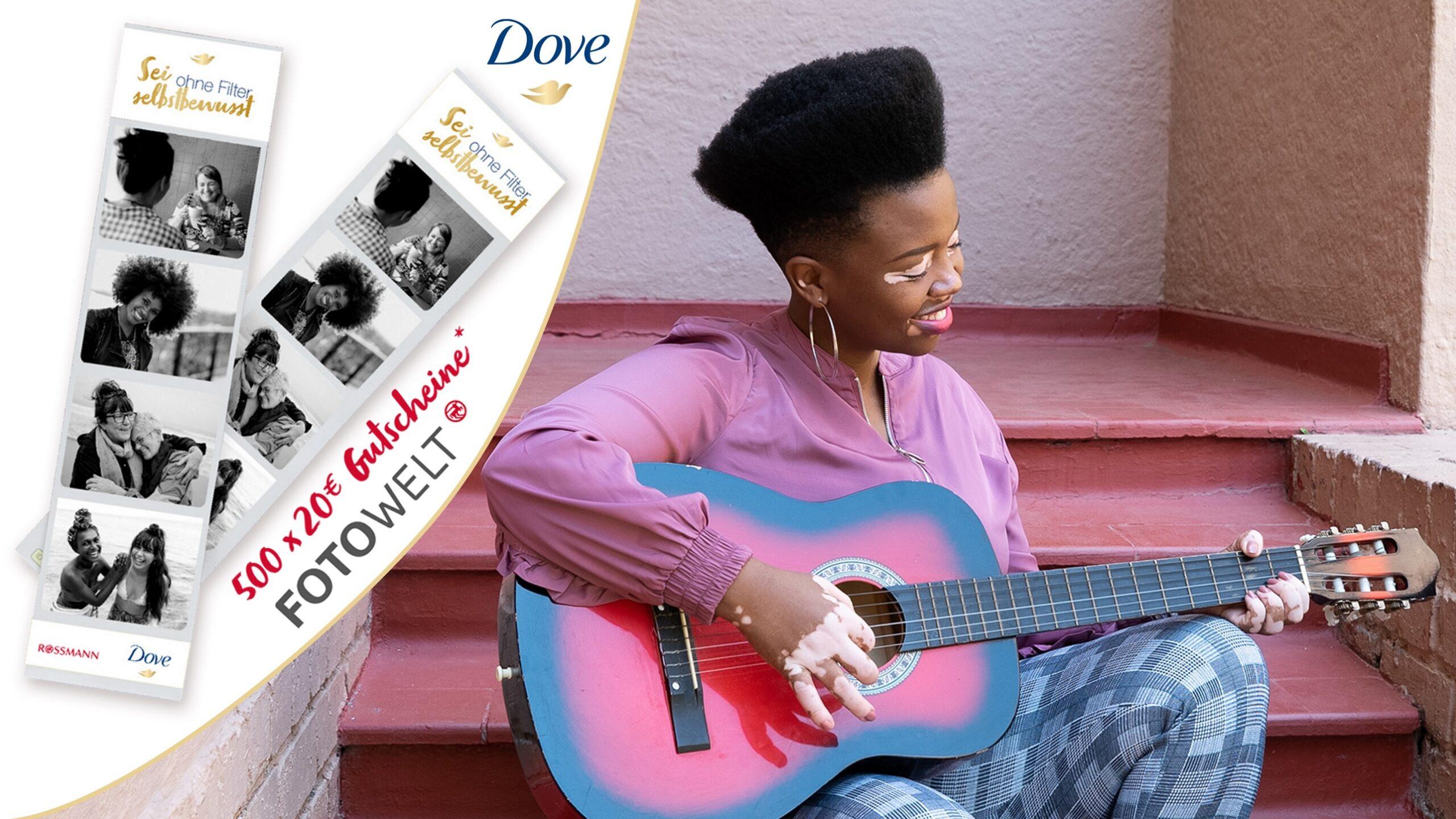 Unilever Friends - Dove - Fotowelt Gewinnspiel